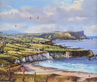 WHITEPARK BAY, COUNTY ANTRIM by William Yeaman at Ross's Auctions