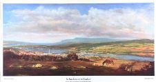 IN SUNSHINE OR IN SHADOW, A VIEW OF DERRY FROM UPPER GLASSAGH ROAD, CREGGAN by Brian Scampton at Ross's Auctions