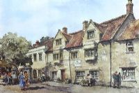 THE MARKET HOUSE, SOMERTON, SOMERSET by Eric R. Sturgeon at Ross's Auctions