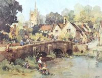 CASTLE COMBE by Eric R. Sturgeon at Ross's Auctions