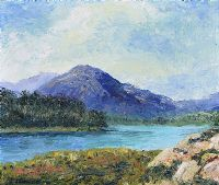 MAAM CROSS, CONNEMARA by J. Sommerville at Ross's Auctions