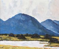 TURF STACKS, CONNEMARA by P. Finner at Ross's Auctions