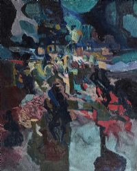 ABSTRACT by David Crone RHA RUA at Ross's Auctions