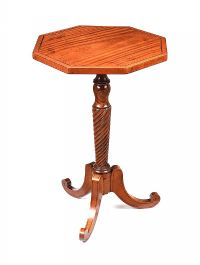 REGENCY SATINWOOD LAMP TABLE at Ross's Auctions