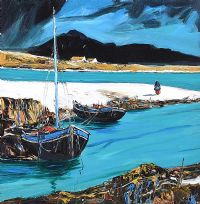 THE STREAMING TIDE, ACHILL by J.P. Rooney at Ross's Auctions