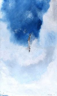 THROUGH THE CLOUDS by Jeff Adams at Ross's Auctions