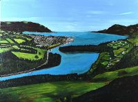 CARLINGFORD LOUGH FROM FLAGSTAFF by H. Roy at Ross's Auctions