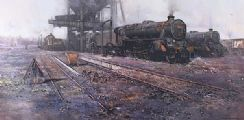 BLACK FIVE COUNTRY by David Shepard OBE FRSA at Ross's Auctions