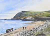 BALLYGALLY HEAD & STRAND by William A. Greer at Ross's Auctions