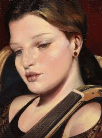 THE MUSICIAN by Ken Hamilton at Ross's Auctions