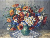 STILL LIFE, VASE OF FLOWERS by Hungarian School at Ross's Auctions