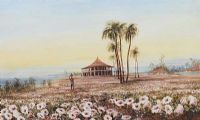 LANDSCAPE CEYLON by Andrew Nicholl RHA at Ross's Auctions