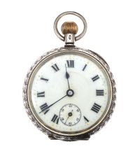 SILVER POCKET WATCH at Ross's Jewellery Auctions