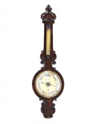 GEORGIAN ROSEWOOD BAROMETER at Ross's Auctions