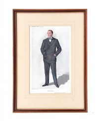 VANITY FAIR COLOURED PRINT at Ross's Auctions