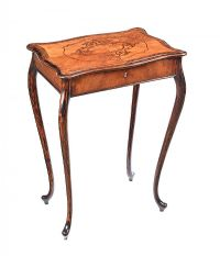 ANTIQUE ROSEWOOD WORK TABLE at Ross's Auctions