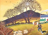 ROOKS NEAR NEWTOWNCROMMELIN by James Macintyre RUA at Ross's Auctions