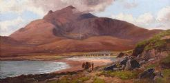 ROUNDSTONE, CONNEMARA by Alexander Williams RHA at Ross's Auctions
