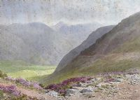 THE HARE'S GAP, SILENT VALLEY by Joseph William  Carey RUA at Ross's Auctions