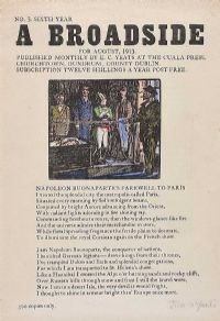 A BROADSIDE by Jack Butler Yeats RHA at Ross's Auctions