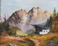 IN THE ALPS by William Yeaman at Ross's Auctions
