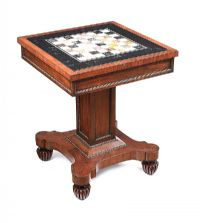 WILLIAM IV CHESS TABLE at Ross's Auctions