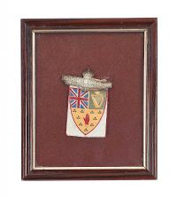 ULSTER UNIONIST  CONVENTION BADGE 1892 at Ross's Auctions