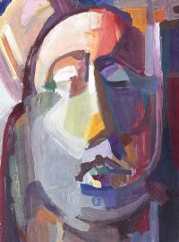HEAD STUDY by Evie Hone HRHA at Ross's Auctions