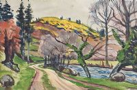 PATH BY THE RIVER by Gerard Dillon at Ross's Auctions