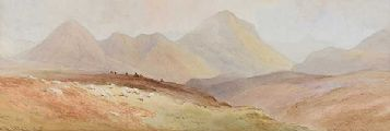 BEN MARSCO, SLIGAHAN, SKYE by Joseph William  Carey RUA at Ross's Auctions