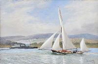 OUT SAILING by Joseph William  Carey RUA at Ross's Auctions