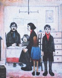 THE FAMILY by Lawrence Stephen Lowry at Ross's Auctions