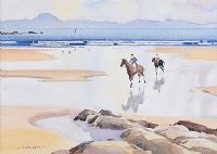 ON BENONE STRAND by Garth Giffin at Ross's Auctions