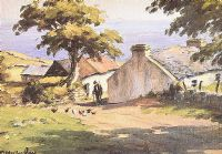 COTTAGE ON LAYDE by Charles McAuley at Ross's Auctions
