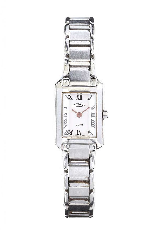 ROTARY STAINLESS STEEL LADY'S WRIST WATCH at Ross's Online Art Auctions