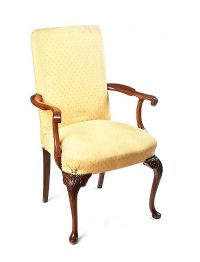 UPHOLSTERED ARMCHAIR at Ross's Auctions