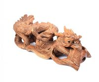 CARVED WOODEN DRAGON at Ross's Online Art Auctions
