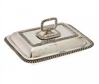 SILVER ENTREE DISH at Ross's Auctions