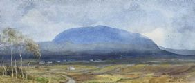 SLEMISH, COUNTY ANTRIM by Joseph William  Carey RUA at Ross's Auctions