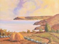 HAYSTACK ON THE WEST COAST by Anna Lavelle at Ross's Auctions