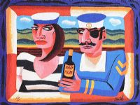 SAILORS by Graham Knuttel at Ross's Auctions
