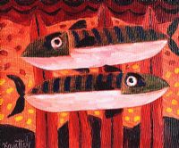 TWO FISH by Graham Knuttel at Ross's Auctions