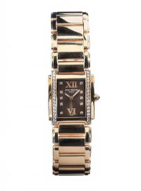 PATEK PHILIPPE 'TWENTY~4' 18CT ROSE GOLD AND DIAMOND LADY'S WRIST WATCH at Ross's Auctions