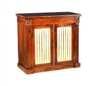 REGENCY ROSEWOOD SIDE CABINET at Ross's Auctions