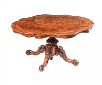 VICTORIAN INLAID WALNUT BREAKFAST TABLE at Ross's Auctions