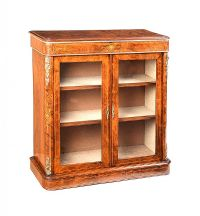 VICTORIAN WALNUT PIER CABINET at Ross's Auctions
