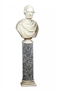 NINETEENTH CENTURY MARBLE BUST at Ross's Auctions