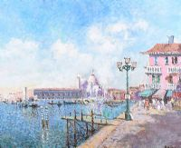 VENICE by John Ambrose at Ross's Auctions
