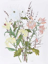 STILL LIFE, FLOWERS by Anne Anderson at Ross's Auctions