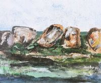 ROWS OF ROCKS by Barrie Cooke HRHA at Ross's Auctions